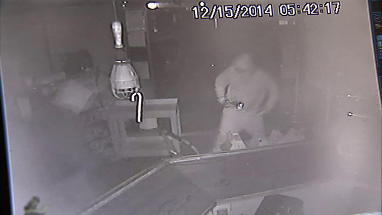 Two burglars broke into the popular Good Microbrew in Silver Lake and made off with two safes containing $10,000 on Monday, Dec. 15, 2014.