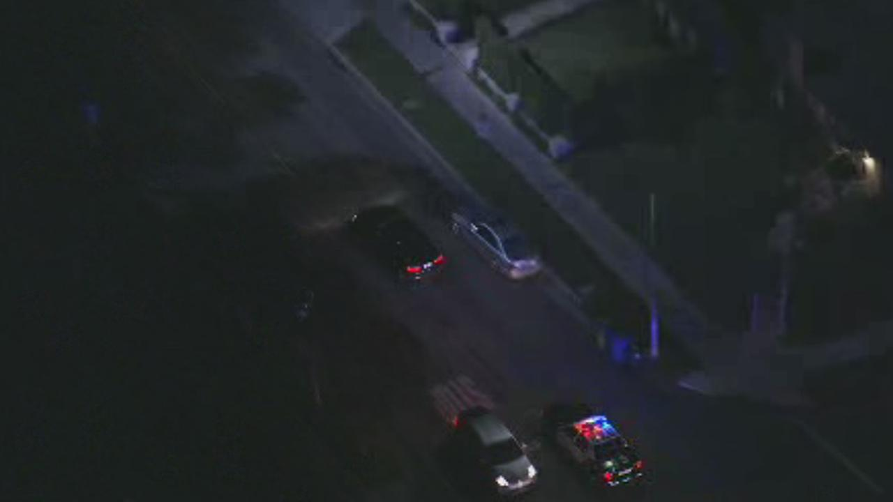 Los Angeles police pursued a possible stolen vehicle across Los Angeles on Wednesday, Dec. 17, 2014.