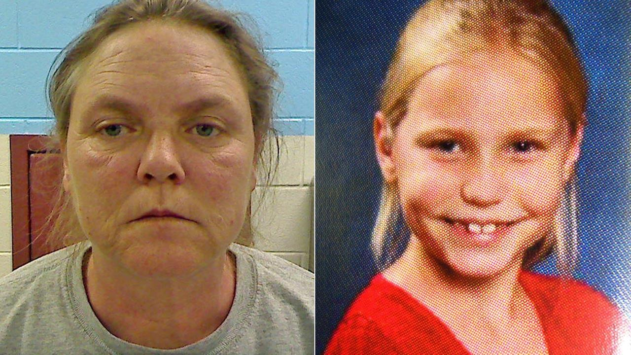 Joyce Hardin Garrard, 46, is seen left in a photo released Wednesday, Feb. 22, 2012. Savannah Hardin, 9, is seen right in an undated photo released Wednesday, Feb. 22, 2012.