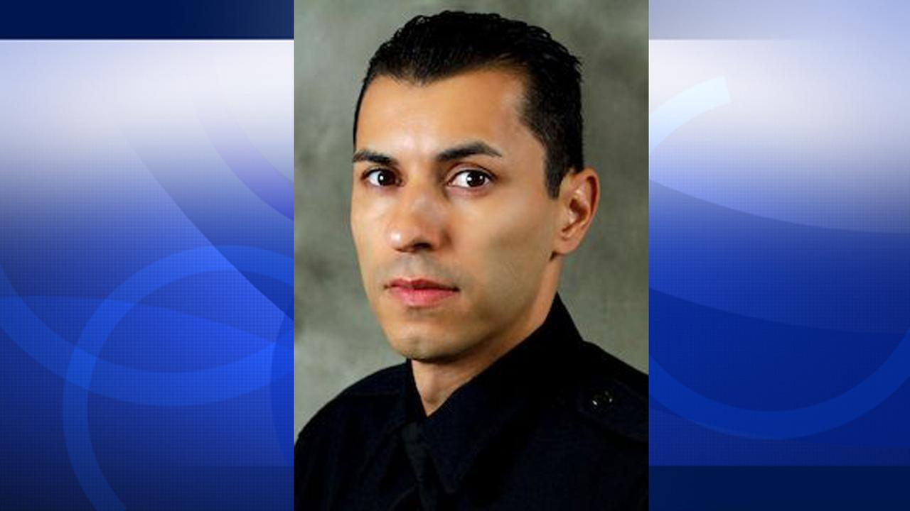 El Monte Officer Hector Hernandez is seen in this undated file photo from El Monte PD.