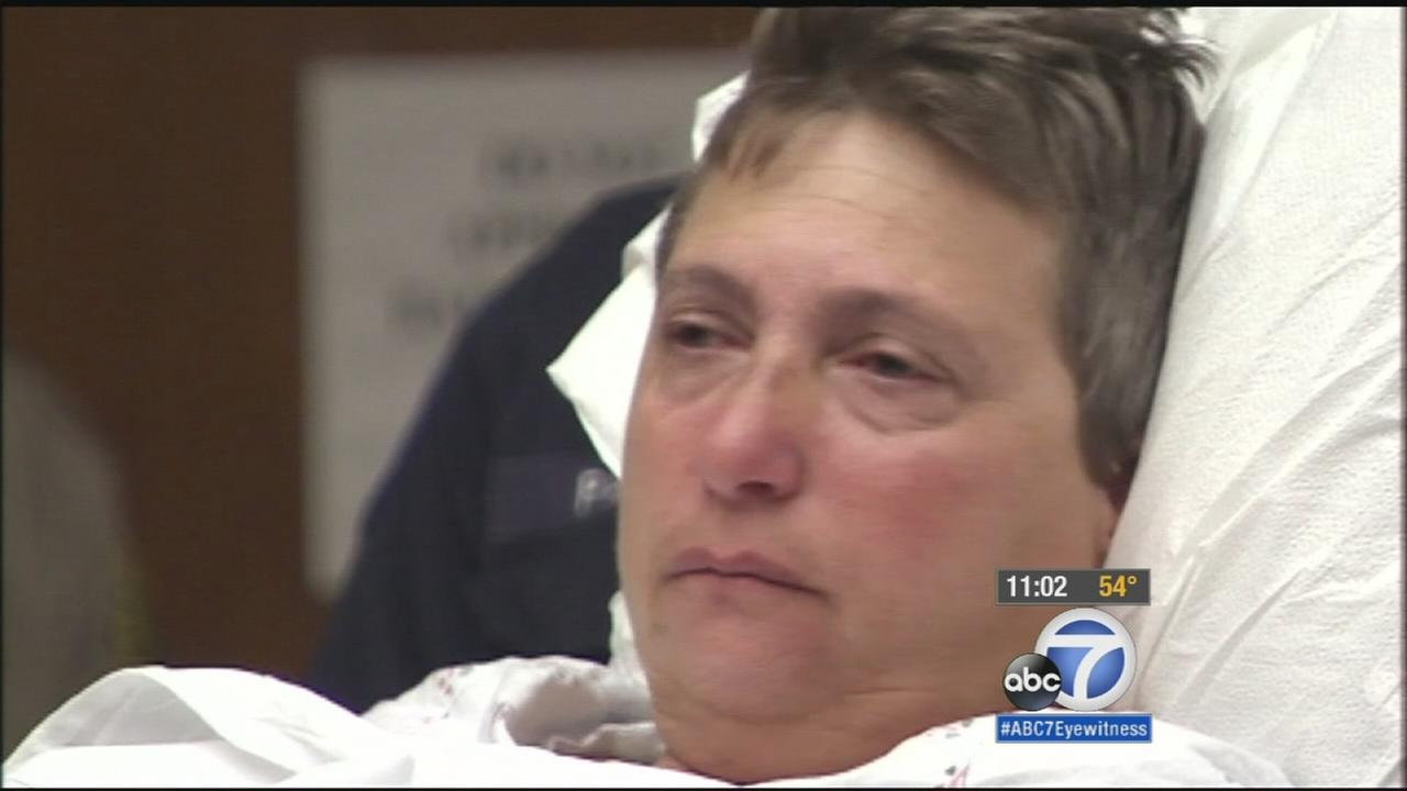 Margo Bronstein, 56, of Redondo Beach pleaded not guilty to five felony counts in connection to a crash outside a church that killed four people Wednesday, Dec. 17, 2014.