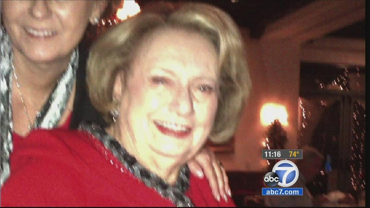 Antonia Yager, 86, is shown in this undated photo given to Eyewitness News by her friends.