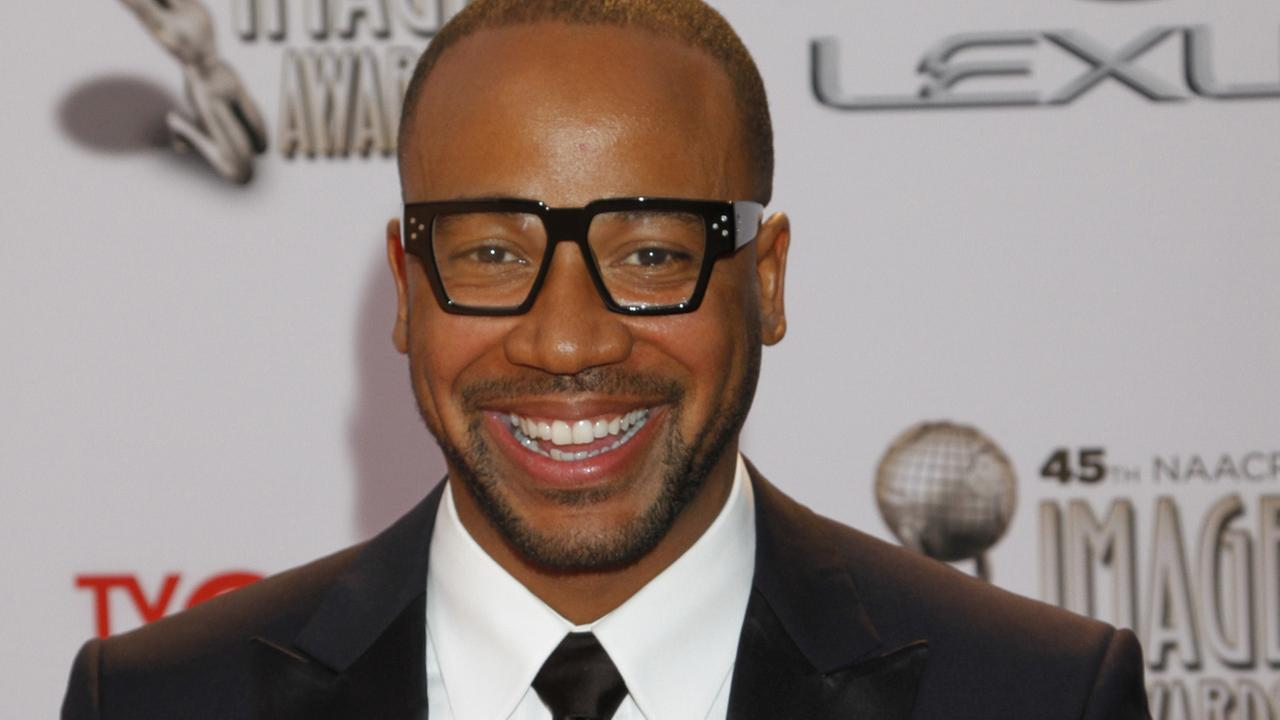 Columbus Short arrives at the 45th NAACP Image Awards at the Pasadena Civic Auditorium on Saturday, Feb. 22, 2014, in Pasadena, Calif.