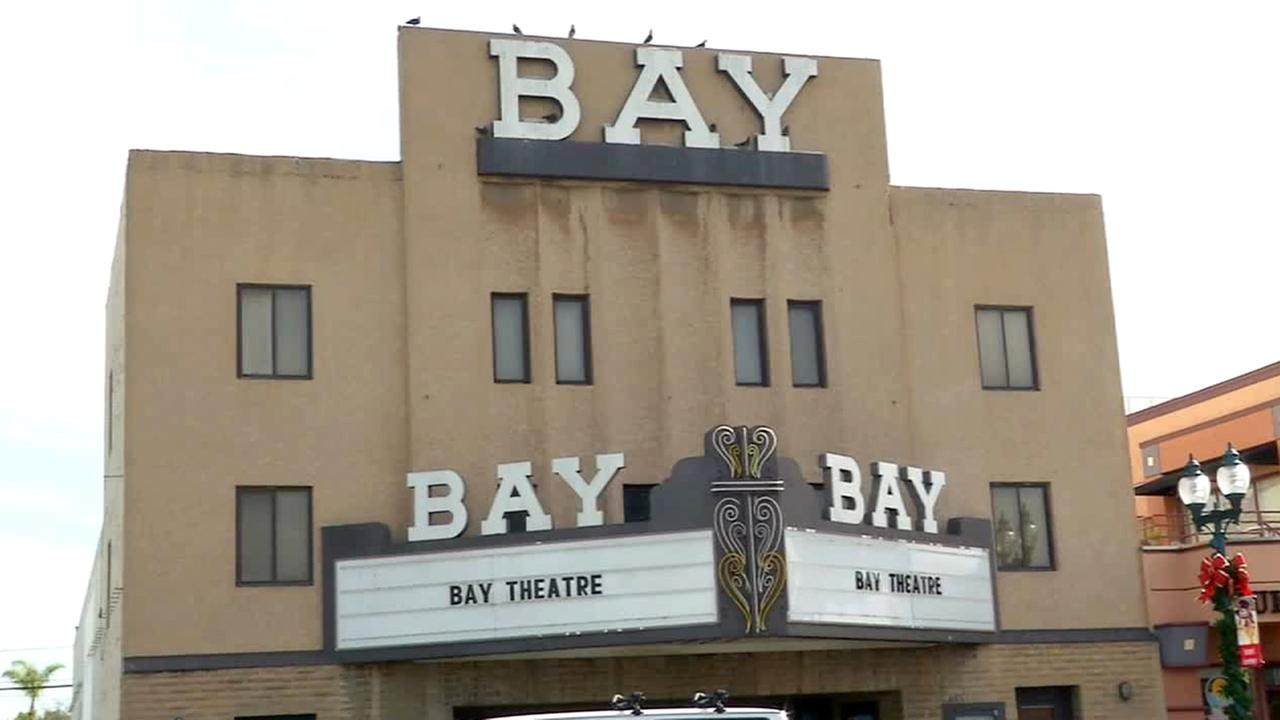 The exterior of the Bay Theatre in Seal Beach is shown in this undated file photo.