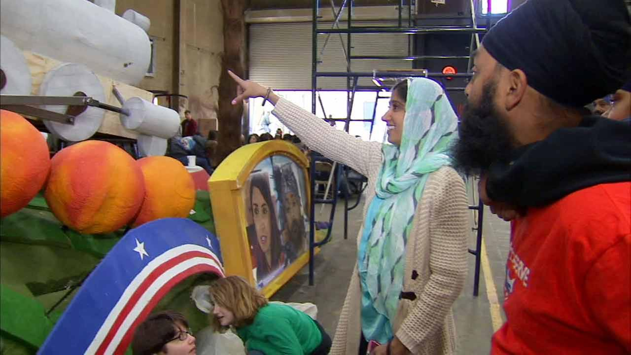 For the first time in its 126 year history, the Rose Parade will feature a float dedicated to Sikh-Americans.