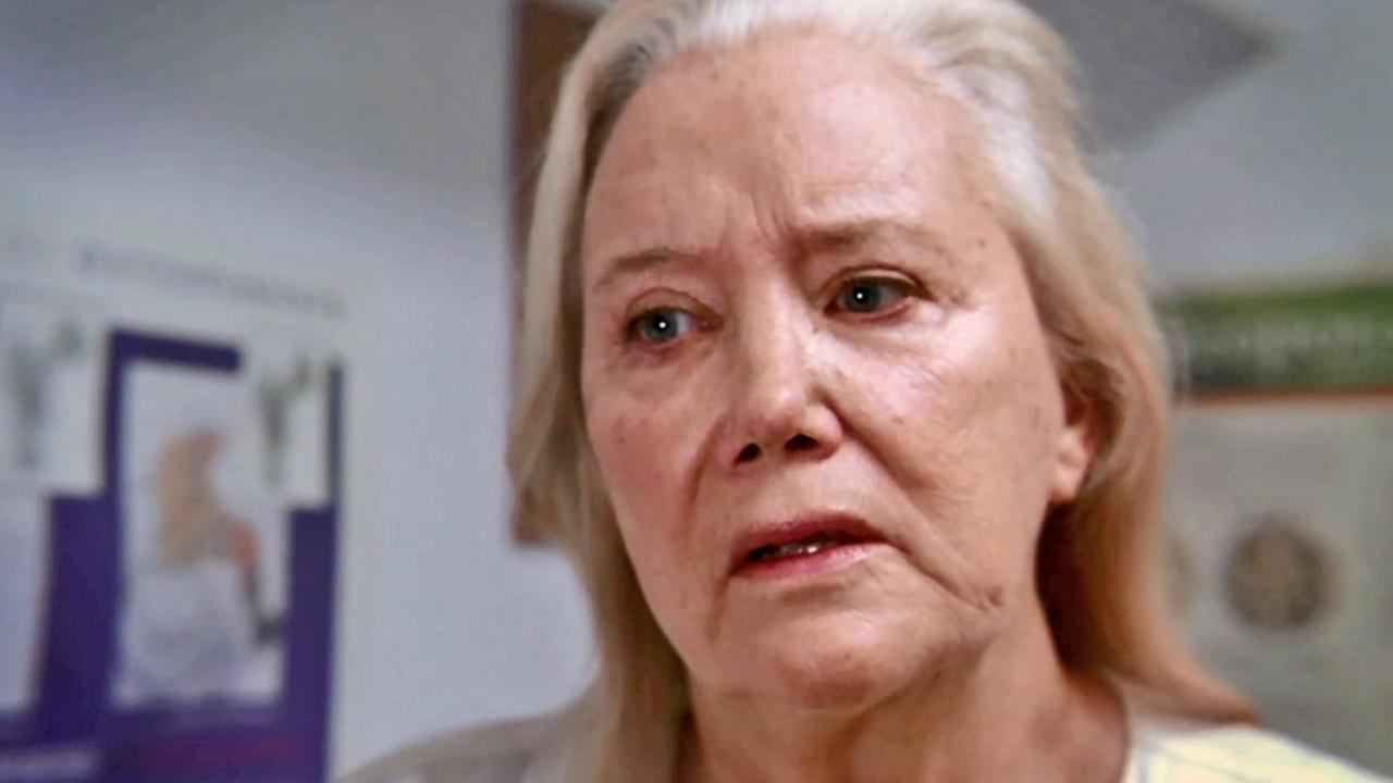 Actress Sally Kirkland in a scene from Archaeology of a Woman.