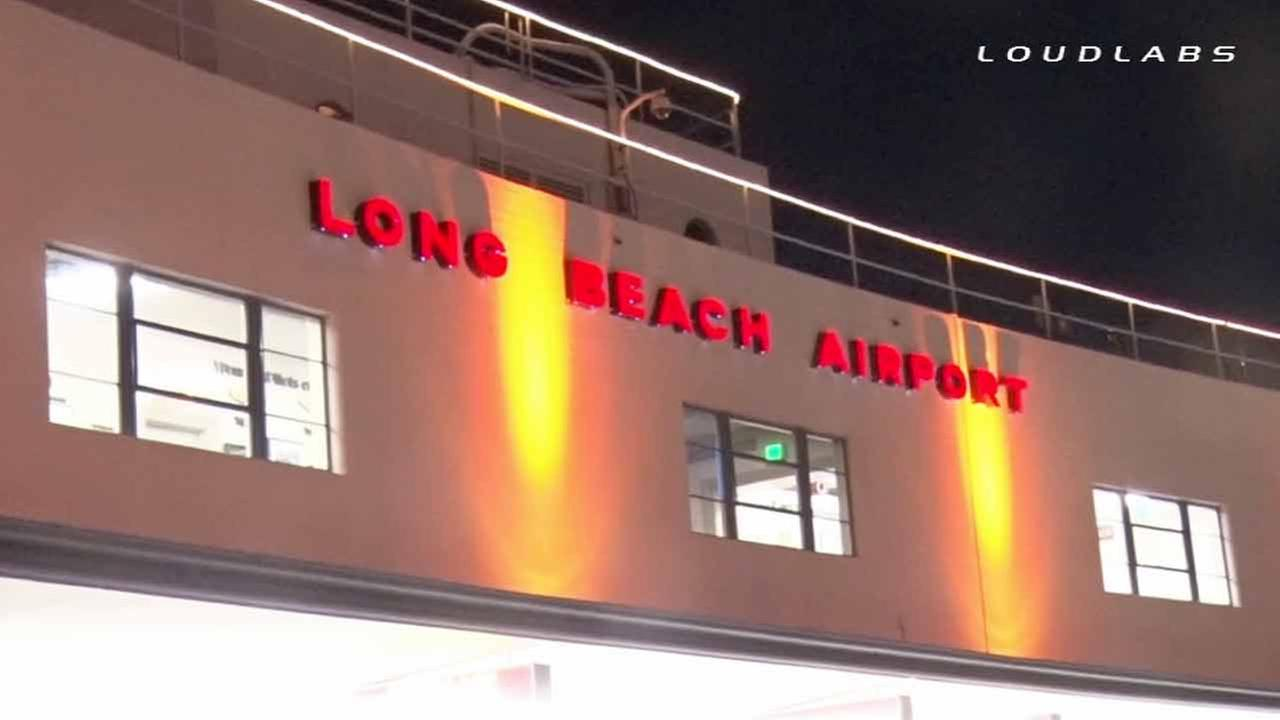 The Long Beach Airport is shown in this undated file photo.