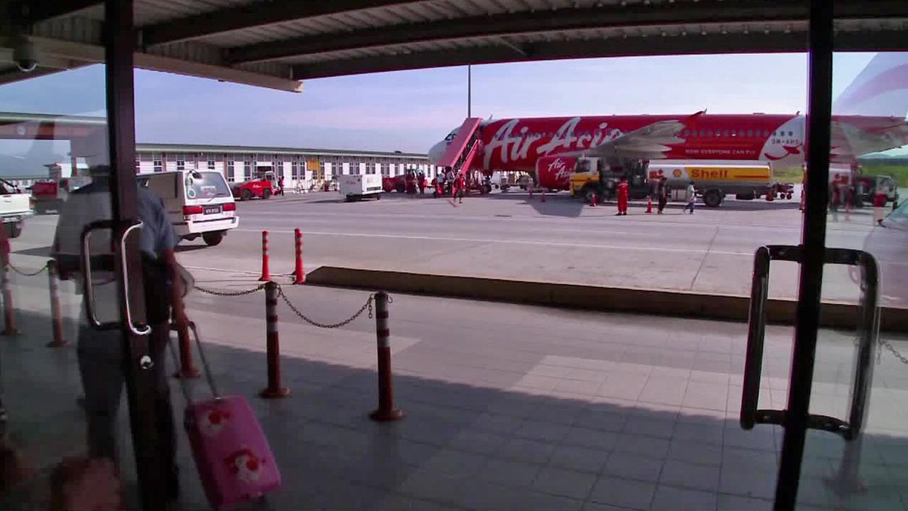 An AirAsia plane is seen in this undated file photo.