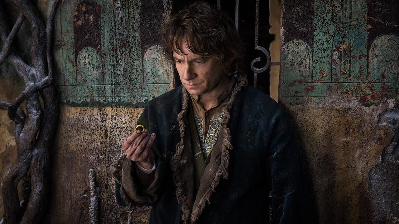 In this image released by Warner Bros. Pictures, Martin Freeman appears in a scene from The Hobbit: The Battle of the Five Armies.