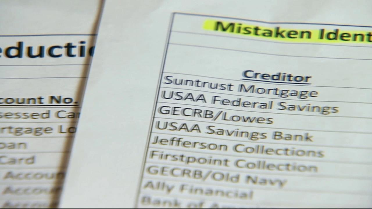 Credit report documents are seen in this undated file photo.