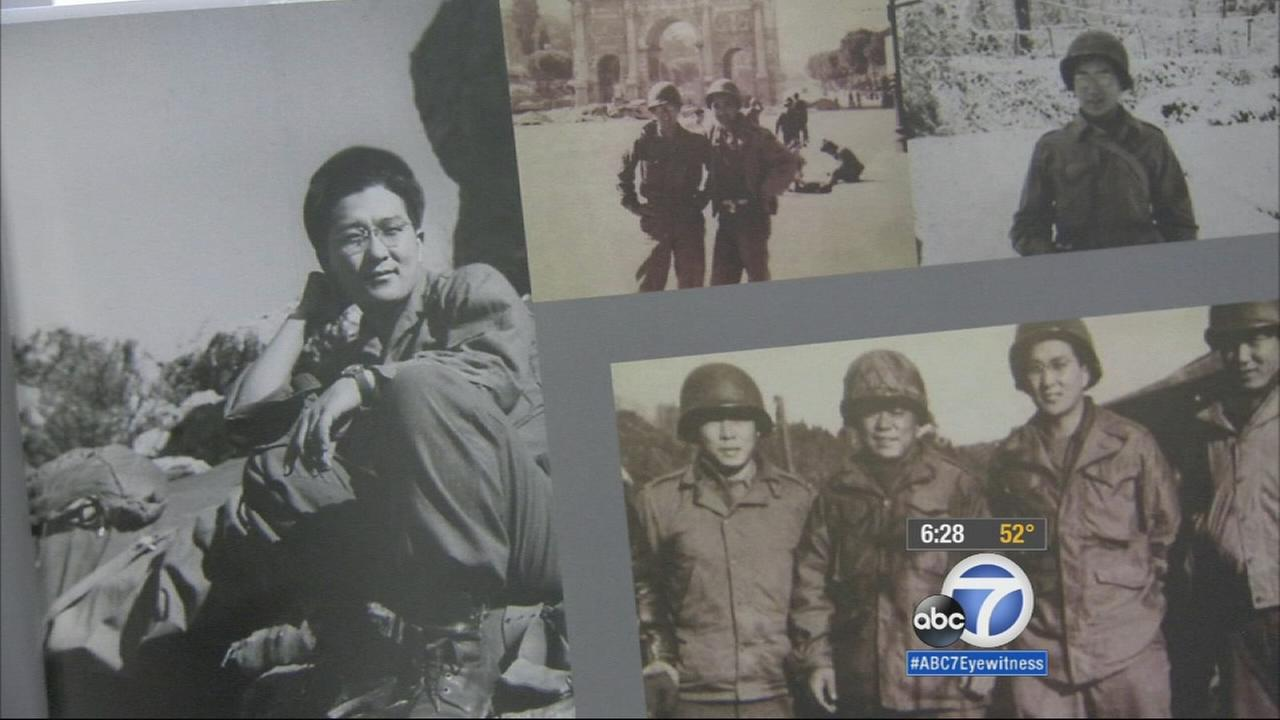 One of the floats in the Rose Parade will pay tribute to some of our countrys heroes - Japanese-Americans who served during World War II.