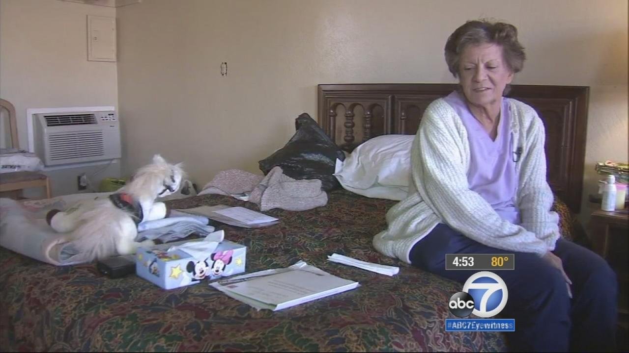 The community of Yucaipa is coming together to make sure a woman and her disabled son have a roof over their heads and beds to sleep in.