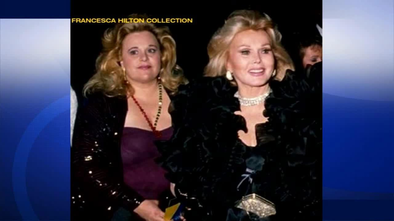 Francesca Hilton, daughter of Zsa Zsa Gabor and Conrad Hilton, died of an apparent stroke/heart attack on Monday, Jan. 5, 2015. She was 67.Francesca Hilton Collection