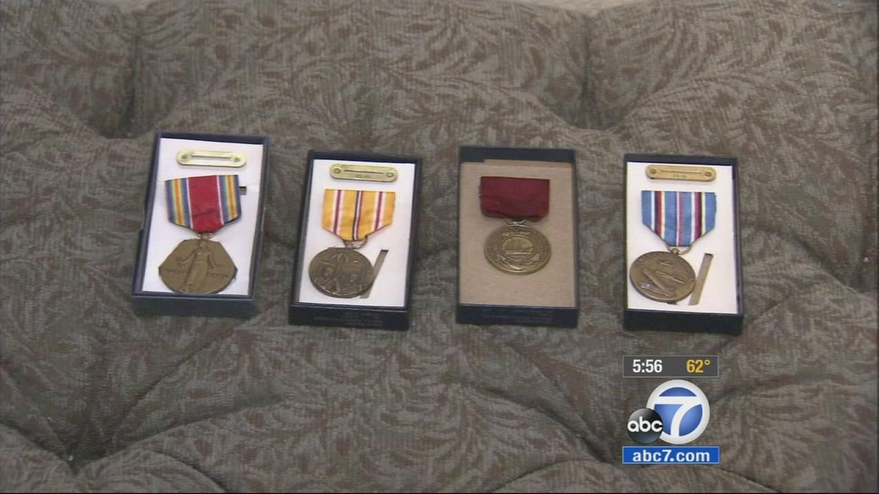 Three long overdue medals for war veterans were finally awarded in Granada Hills on Friday, Jan. 9, 2015.