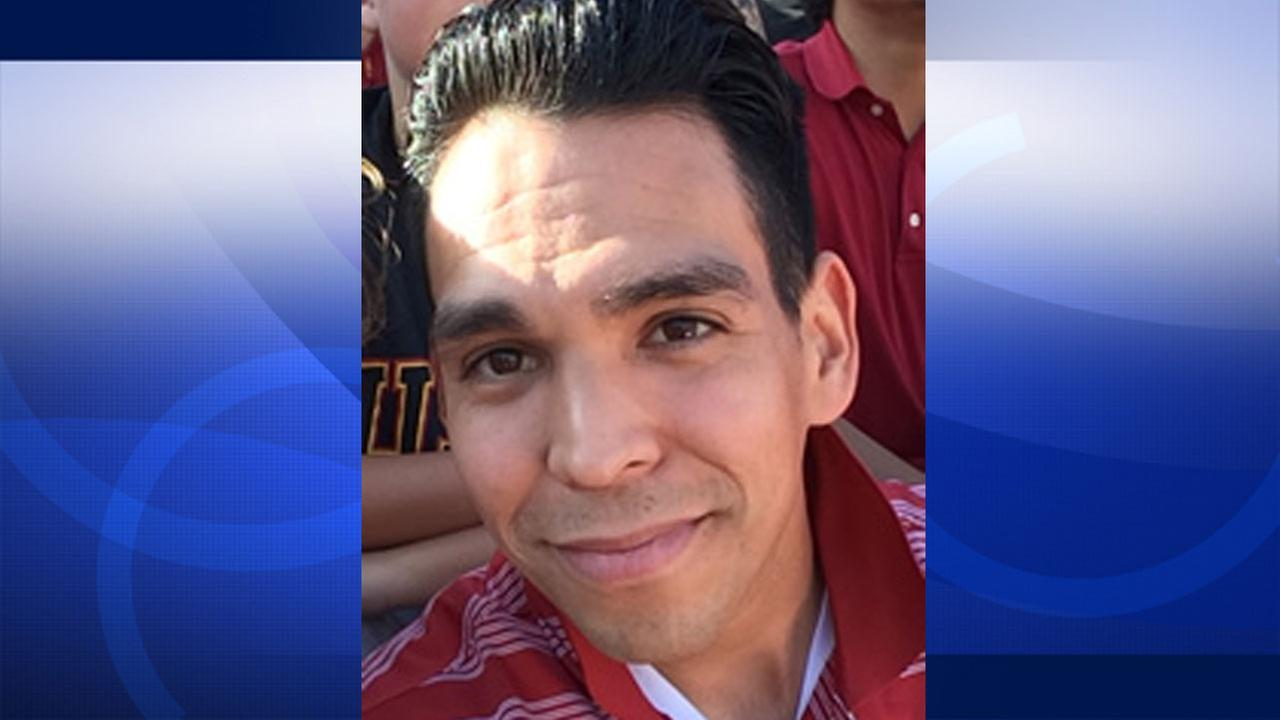 Omar Meza, 33, of Los Angeles was last seen in the lobby of the JW Marriott Desert Springs Resort and Spa in Palm Desert Thursday, Jan. 8, 2015.