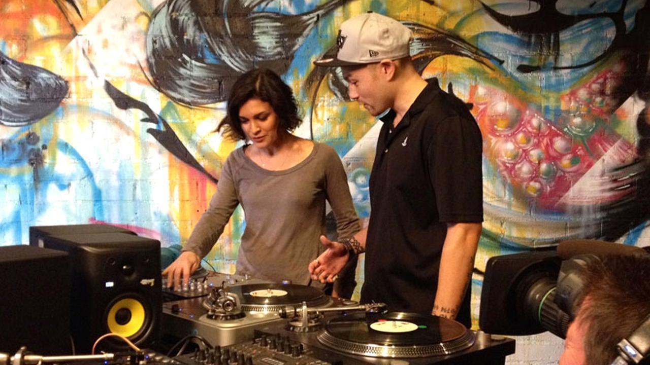 Eye on L.A. host Tina Malave goes to DJ school.