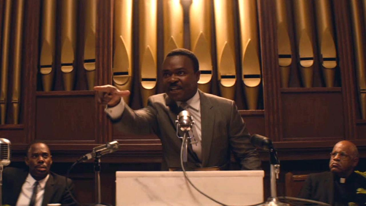 David Oyelowo portrays Martin Luther King Jr. in the Oscar-nominated film Selma.