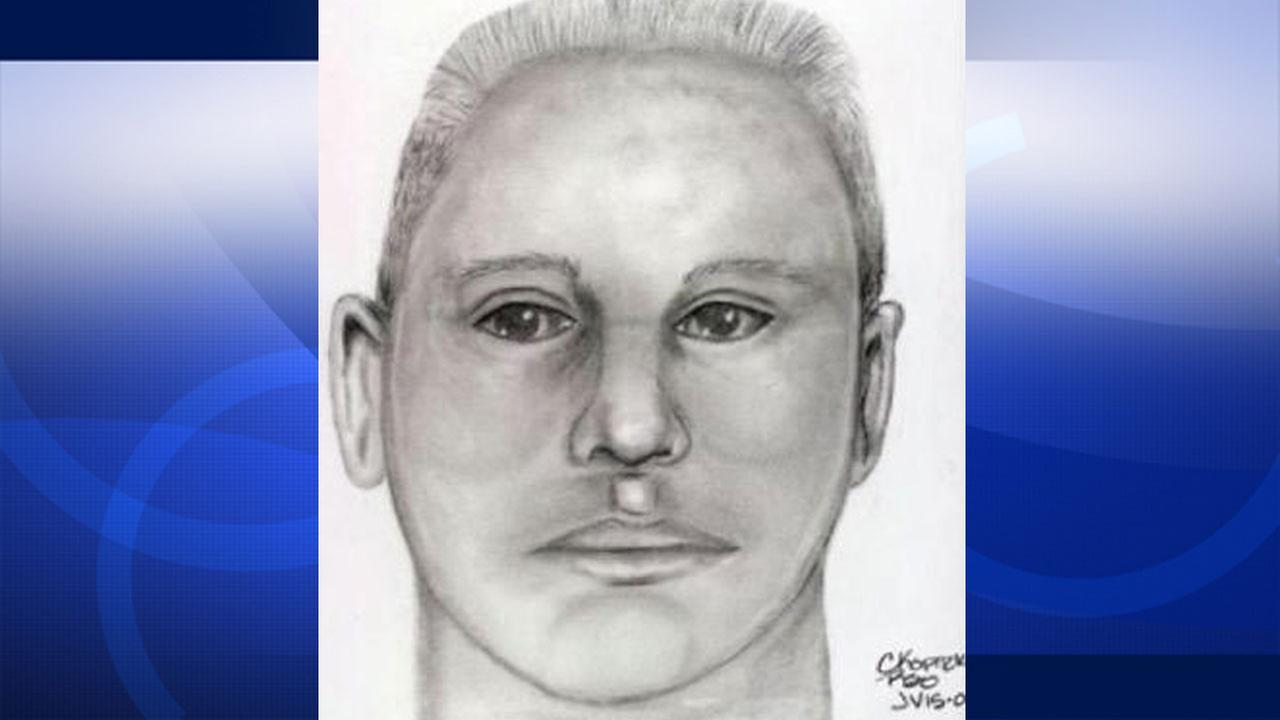 Riverside County Sheriffs Department investigators released a sketch of a suspect wanted in connection to a fatal road rage fight in Jurupa Valley on Sunday, Jan. 4, 2015.