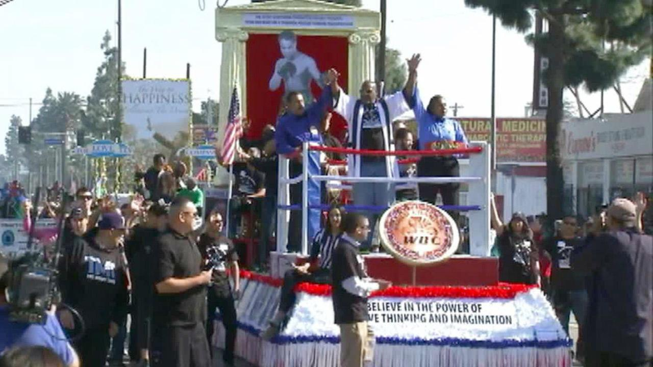 Martin Luther King, Jr. honored in South Los Angeles ...