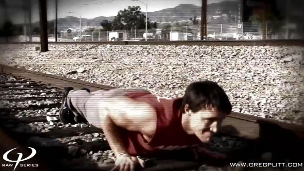 Fitness model George Plitt Jr., better known as Greg Plitt, was struck and killed by a Metrolink train in Burbank Saturday, Jan. 17, 2015.