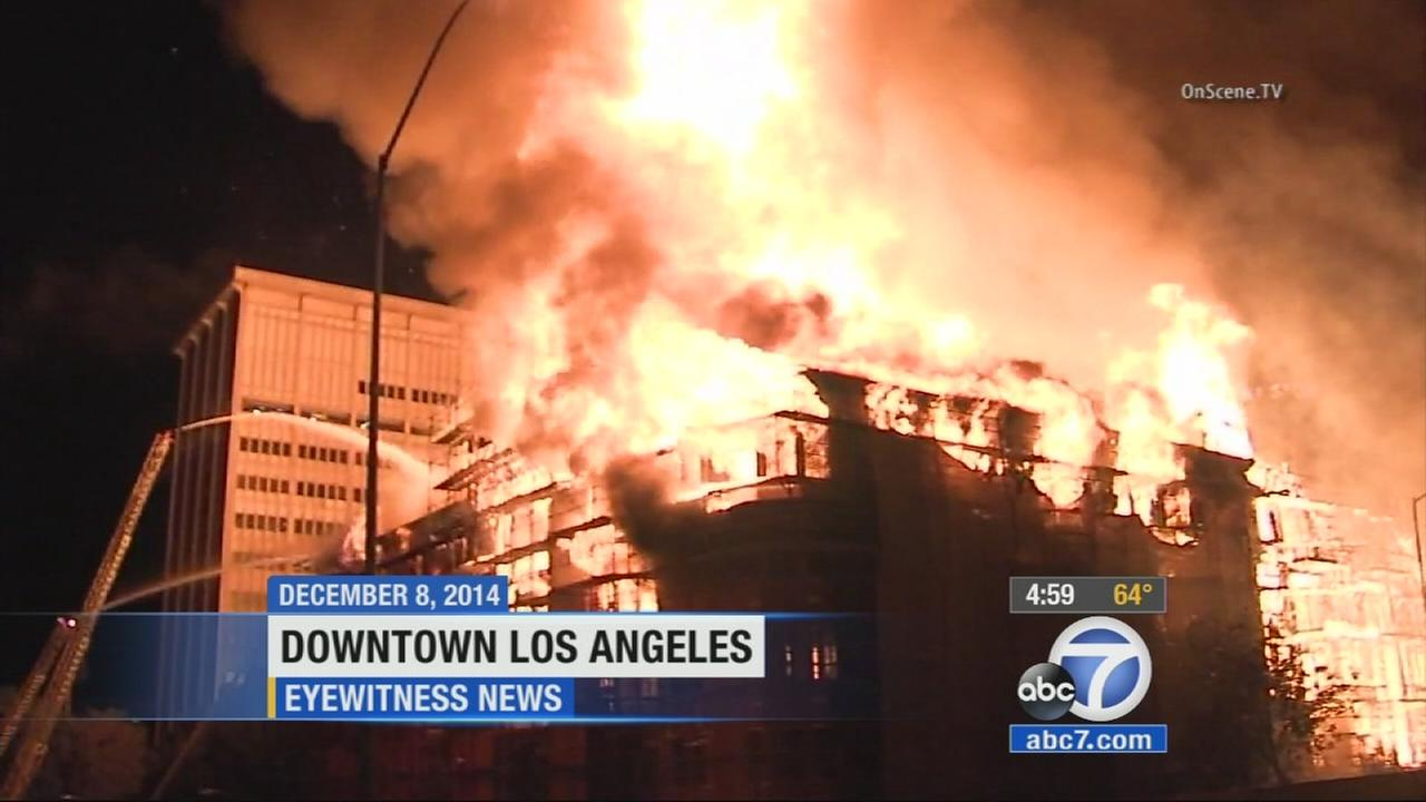 A $170,000 reward was announced in the investigation surrounding the fire that destroyed the Da Vinci apartment complex in downtown Los Angeles in December.