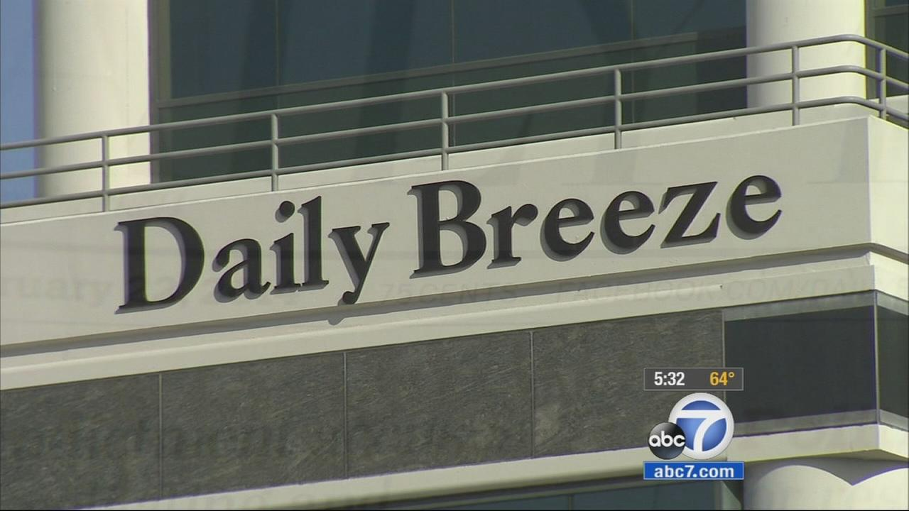Carson city officials have accused the Daily Breeze of publishing inaccurate news stories that misrepresent the city as crime-ridden.