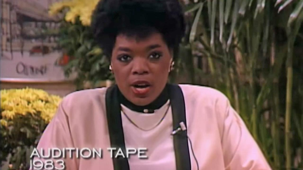 Oprah Winfrey appears in an audition tape from 1983.