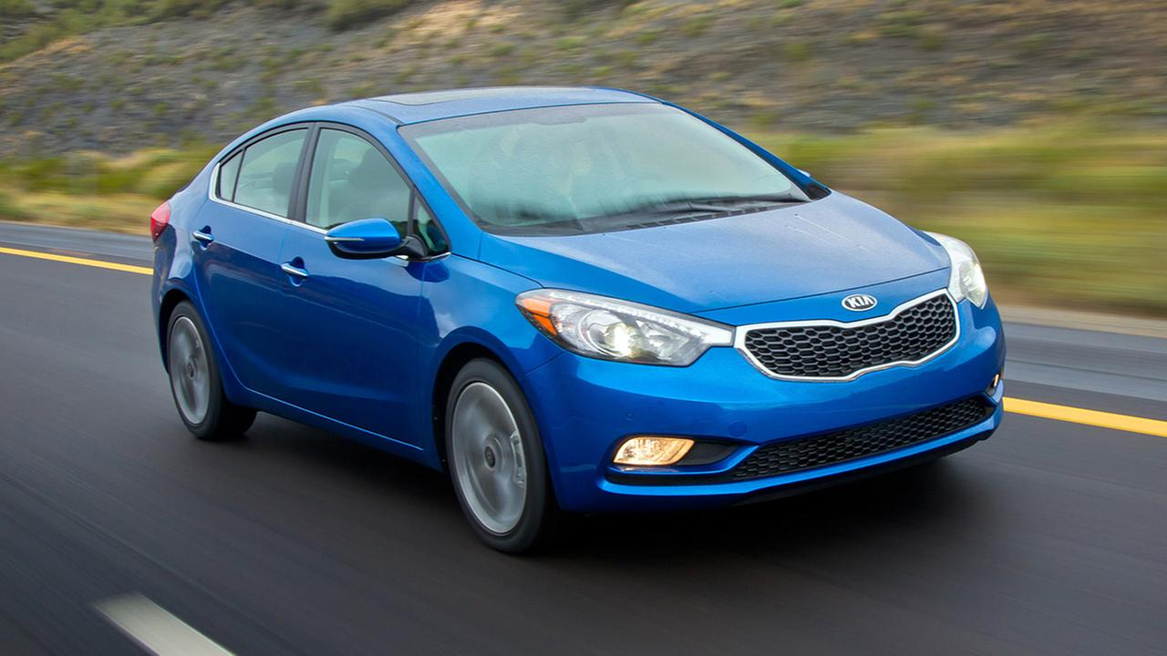This undated image made available by Kia shows the 2014 Kia Forte.