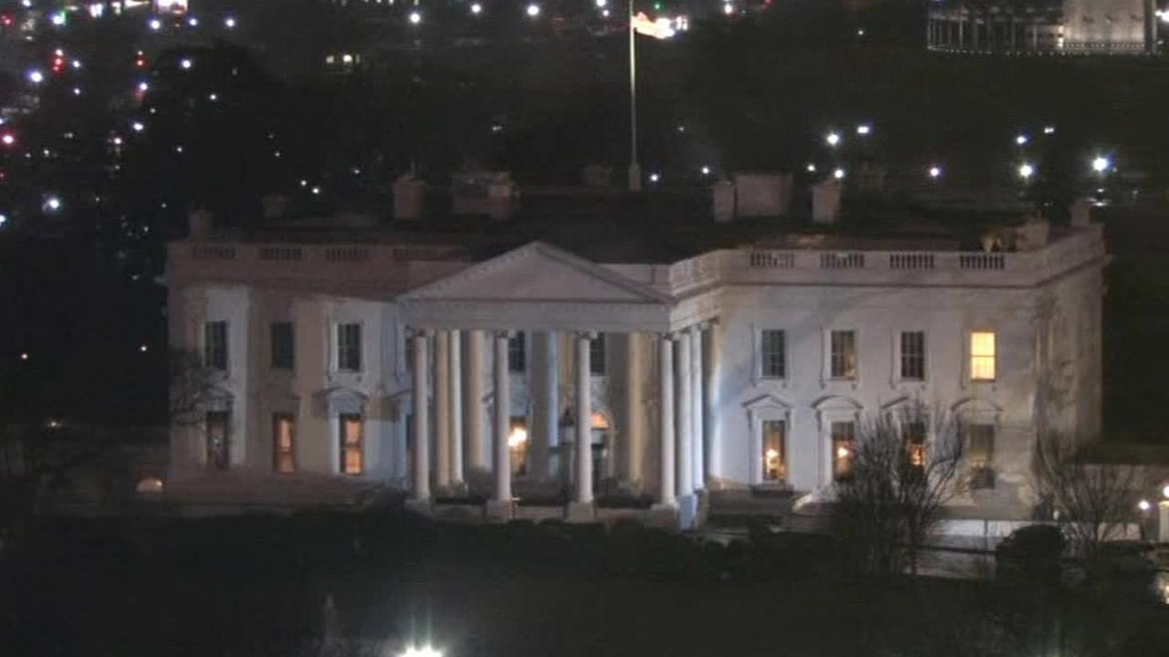 The White House is seen on Monday, Jan. 26, 2015.