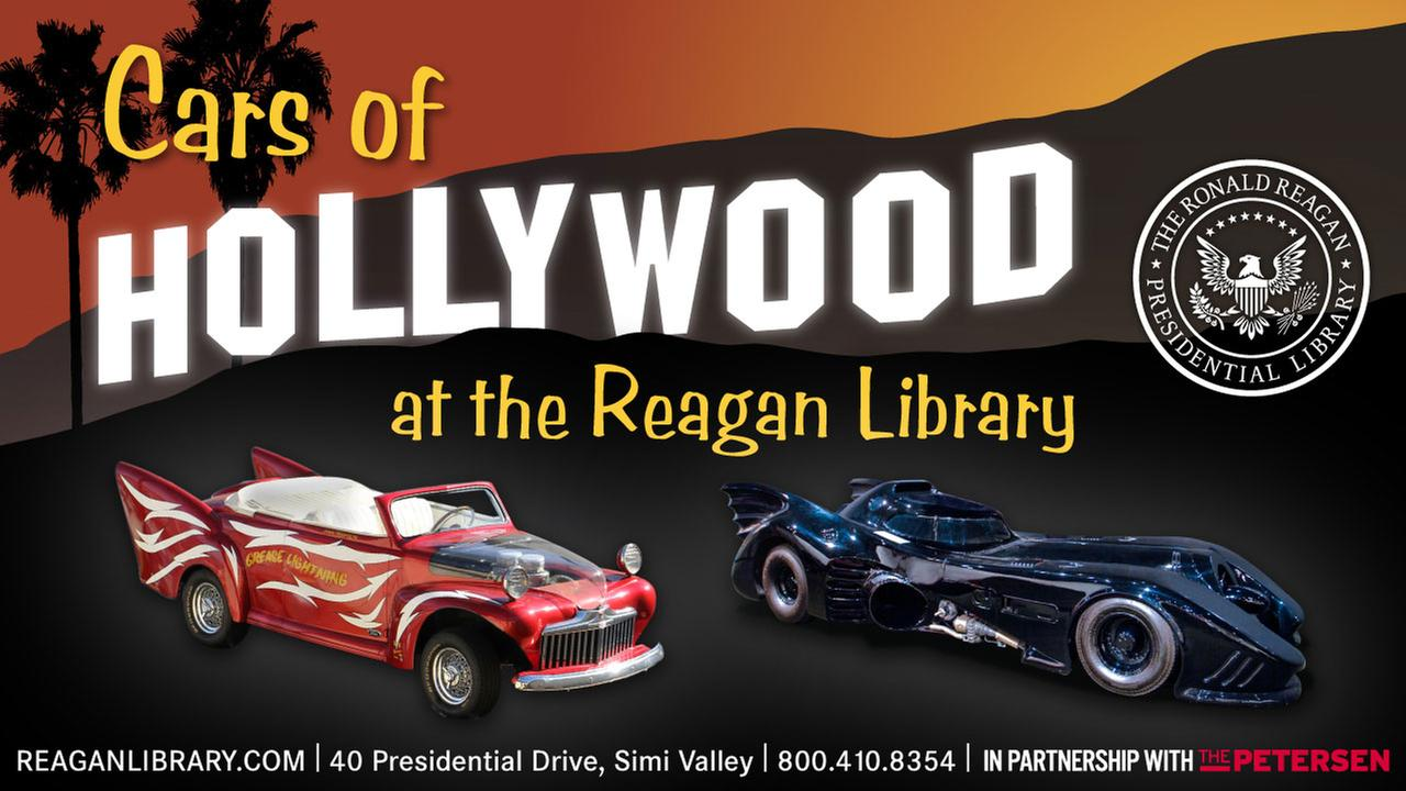 Save on Admission to Cars of Hollywood at the Reagan Library