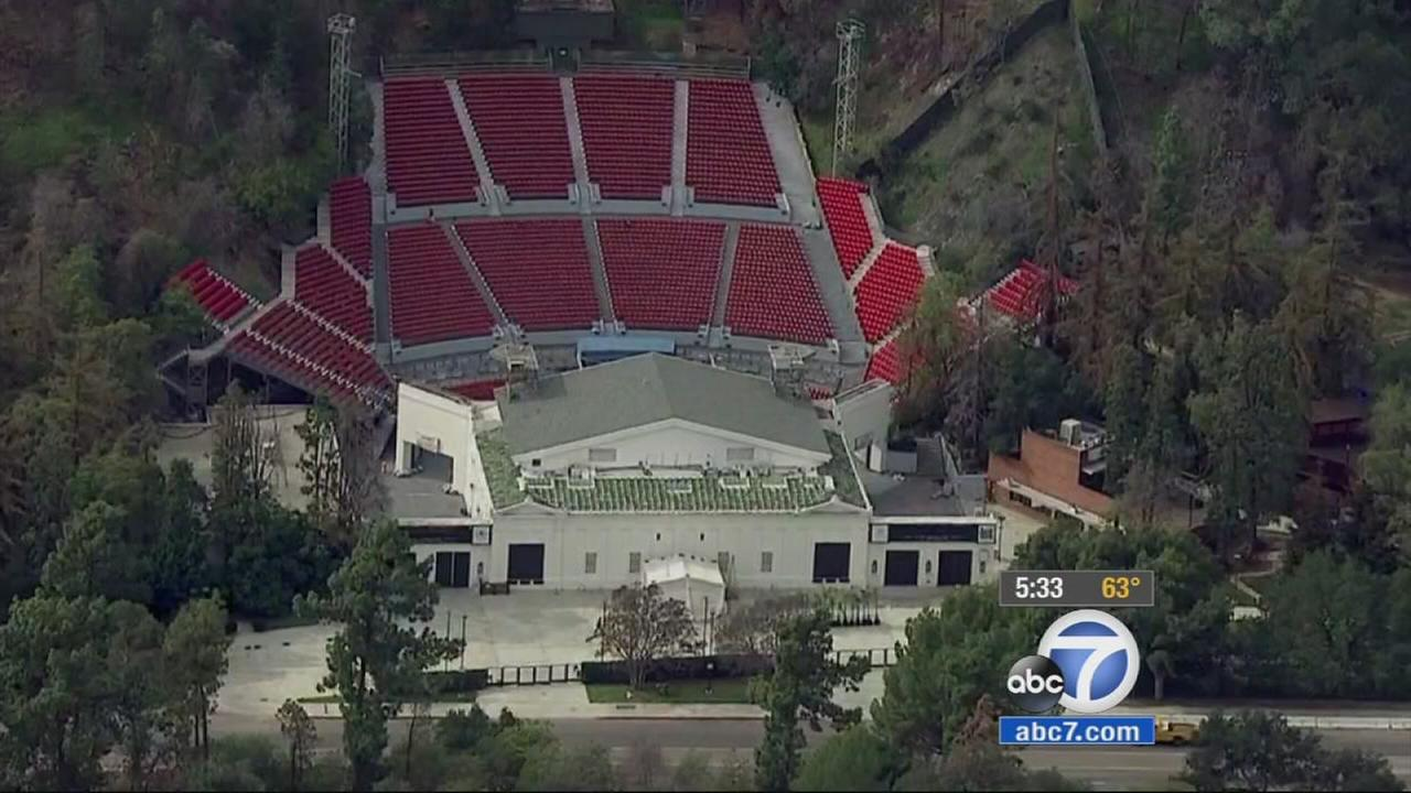 A City Council committee rejected a recommendation to turn management of the Greek Theatre over to Live Nation on Monday, Jan. 26, 2015.