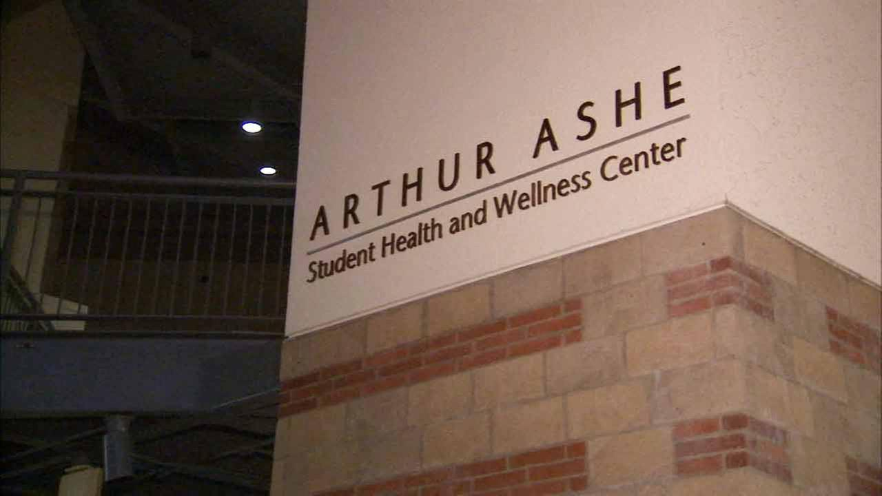 The Arthur Ashe Student Health and Wellness Center in Westwood is shown in this 2015 image.