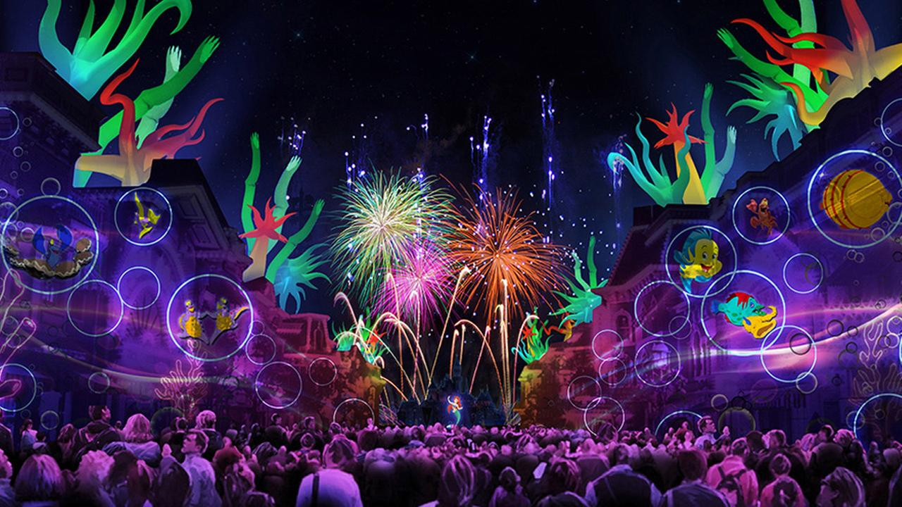 A new fireworks show called Disneyland Forever will debut on May 22, 2015 and feature pyrotechnics and image projections.