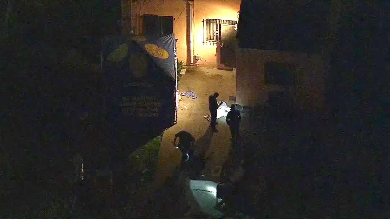 Los Angeles police were investigating the fatal shooting of a 14-year-old girl in South Los Angeles on Friday night. A 19-year-old girl was also shot but was expected to survive.