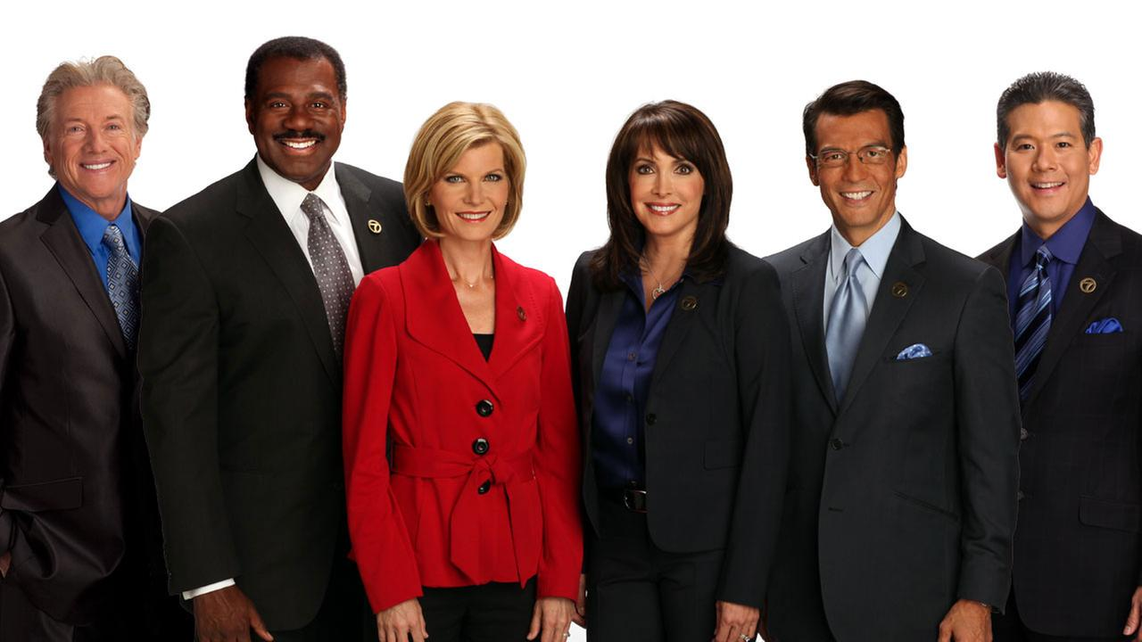 The ABC7 Los Angeles news team
