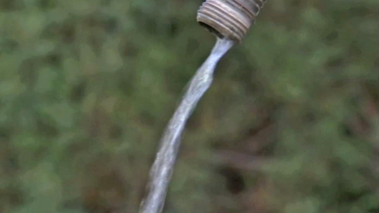 A water hose is seen in this undated file photo.