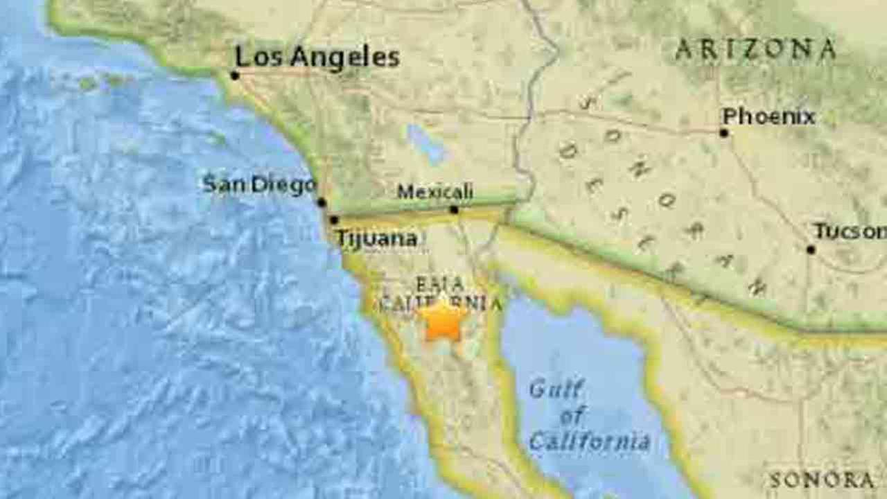 4 9 magnitude earthquake shakes baja california