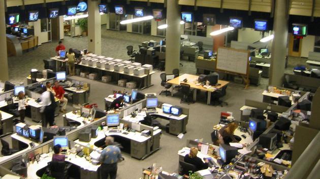 Channel 3000 Newsroom Tour | SPJ UW-Madison