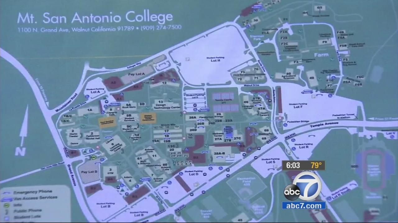 Mt San Antonio College Story Parking Structure Sparks Debate In - Mt sac campus map