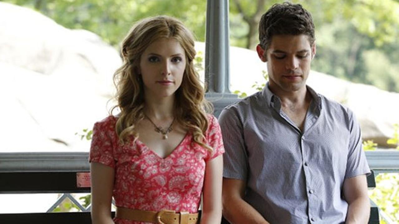 Anna Kendrick and Jeremy Jordan appear in The Last Five Years.