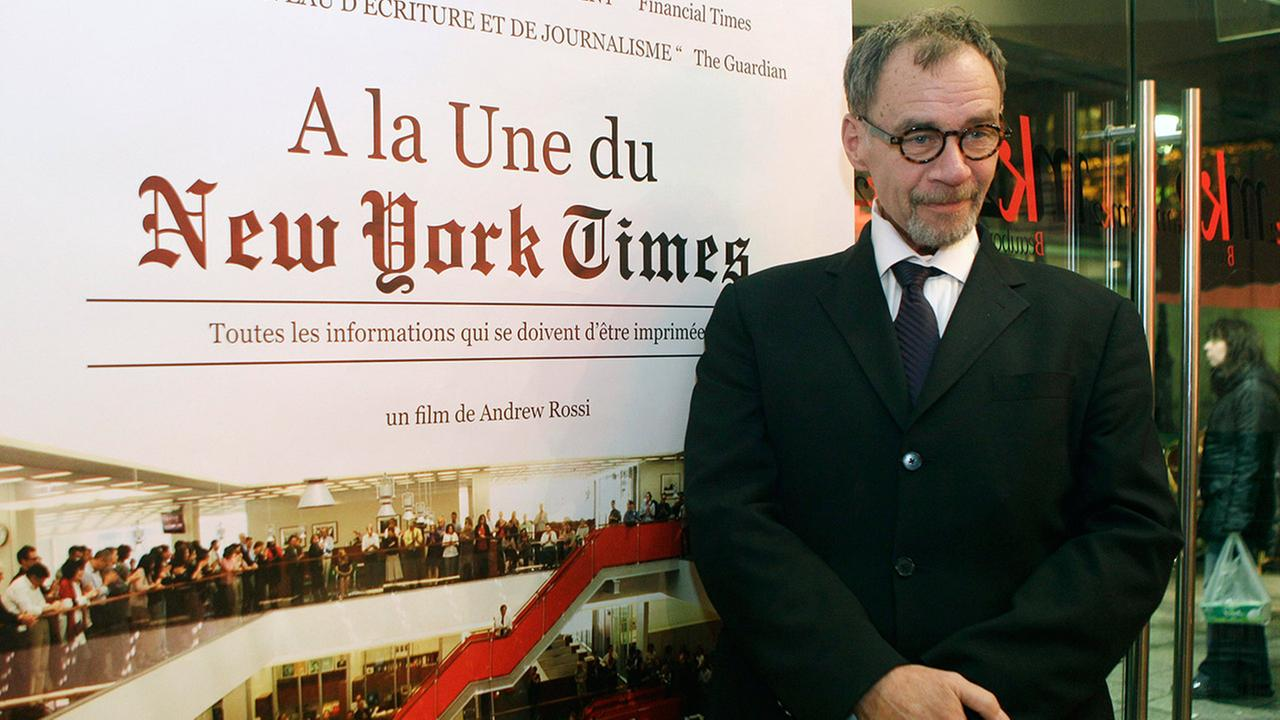 The New York Times media columnist David Carr died at the office on Thursday, Feb. 12, 2015. He was 58.Michel Euler