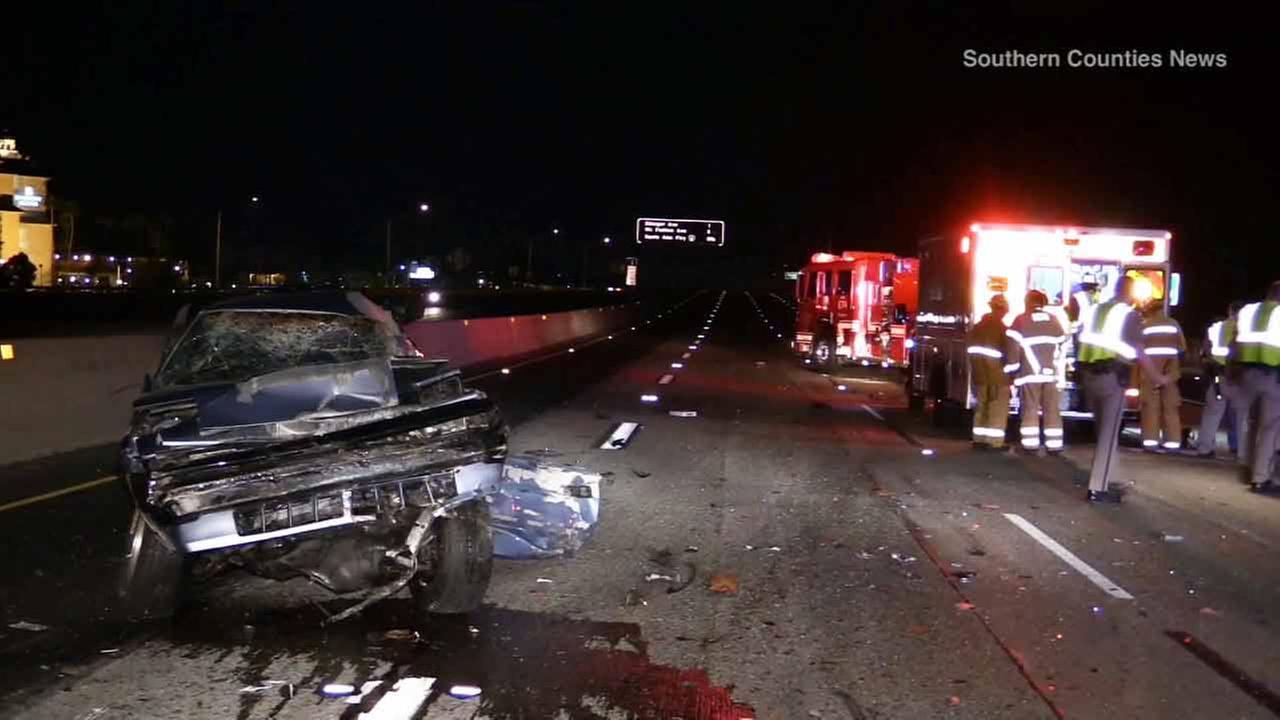 Mattress On 55 Freeway In Santa Ana Causes Fatal 4 Vehicle