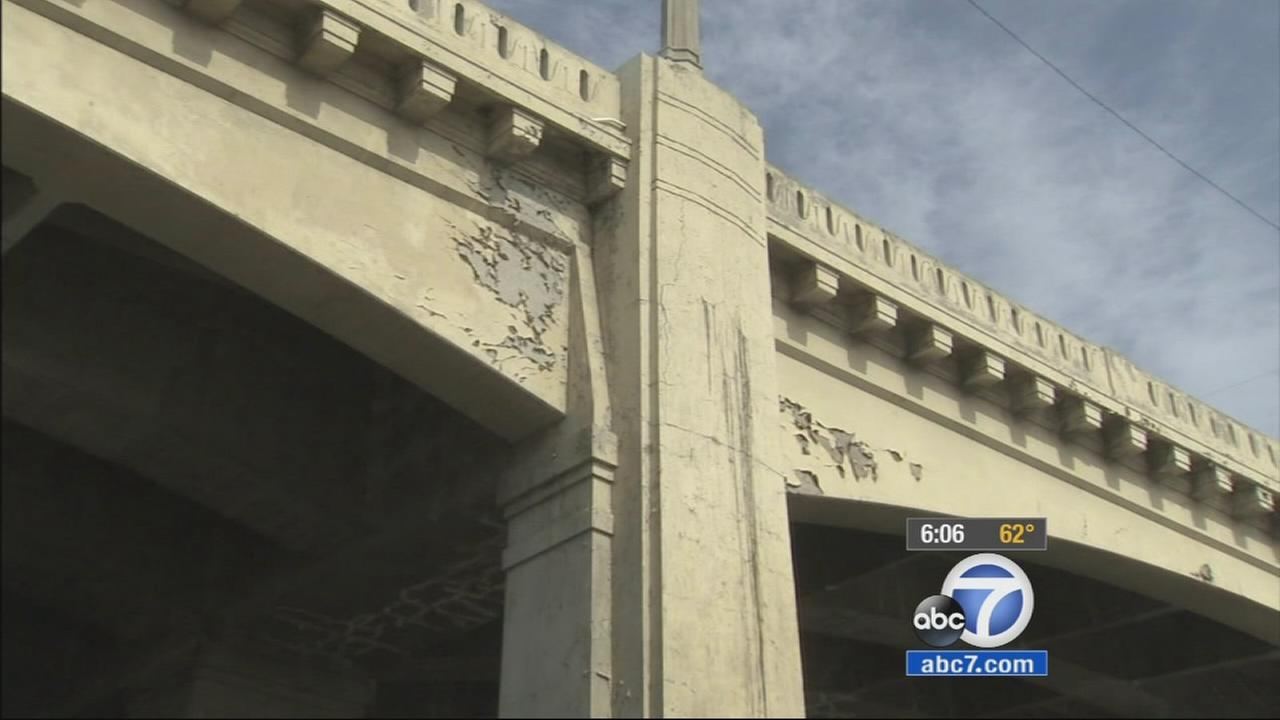 A Los Angeles landmark is getting a facelift. City officials held a groundbreaking ceremony for the 6th Street Viaduct Replacement Project Friday.