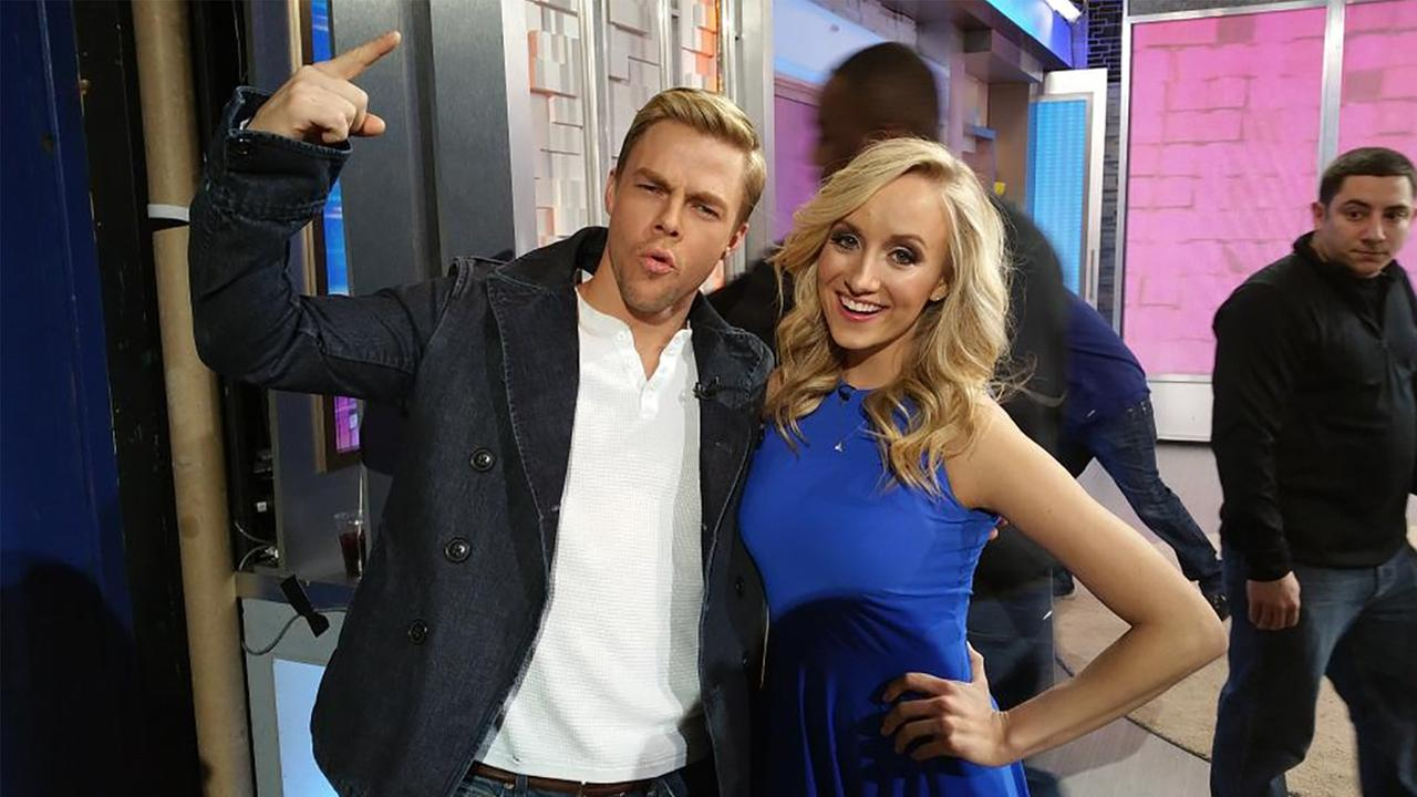 Dancing With The Stars favorite Derek Hough has been partnered with Olympic champion gymnast Nastia Liukin for season 20 of the reality ballroom competition.