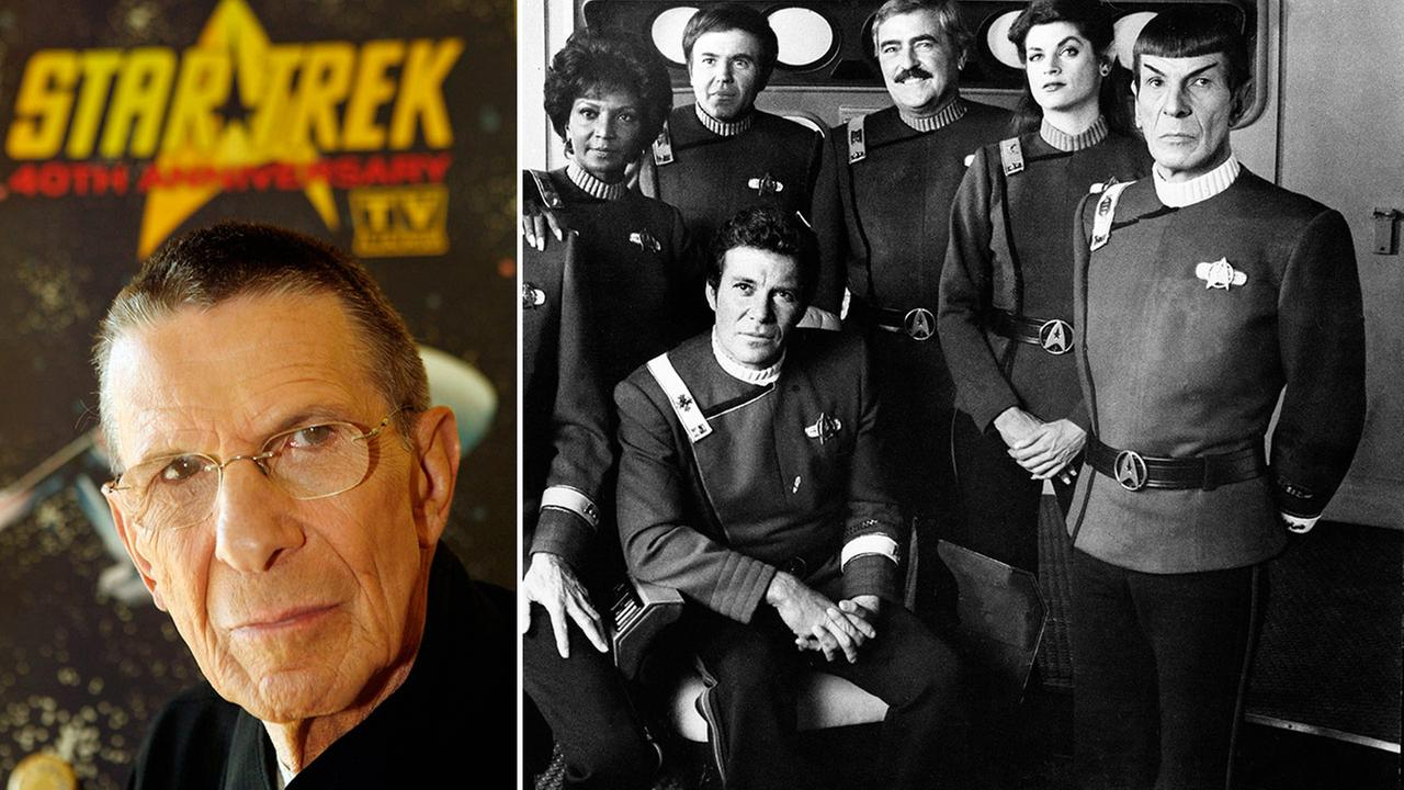 Leonard Nimoy, world famous to Star Trek fans as the pointy-eared, purely logical science officer Mr. Spock, died Feb. 27, 2015 of end-stage chronic obstructive pulmonary disease. He was 83.AP Photo/Ric Francis/Paramount Pictures