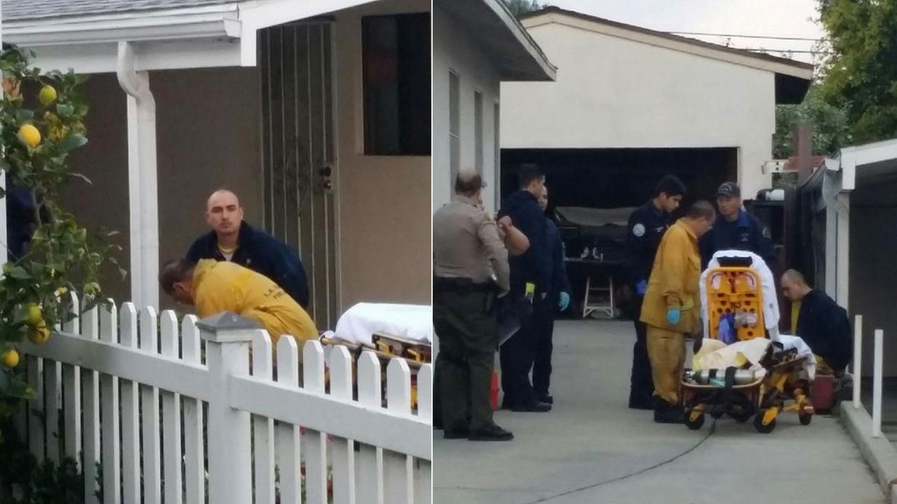 An inmate who escaped from the sheriffs Lomita Station was found hiding in a covered Jacuzzi in a nearby backyard Sunday, March 1, 2015.