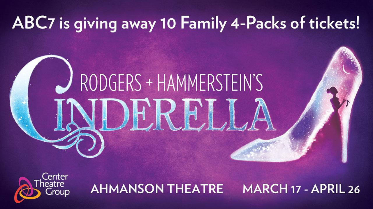 Win tickets to see Rodgers + Hammersteins Cinderella
