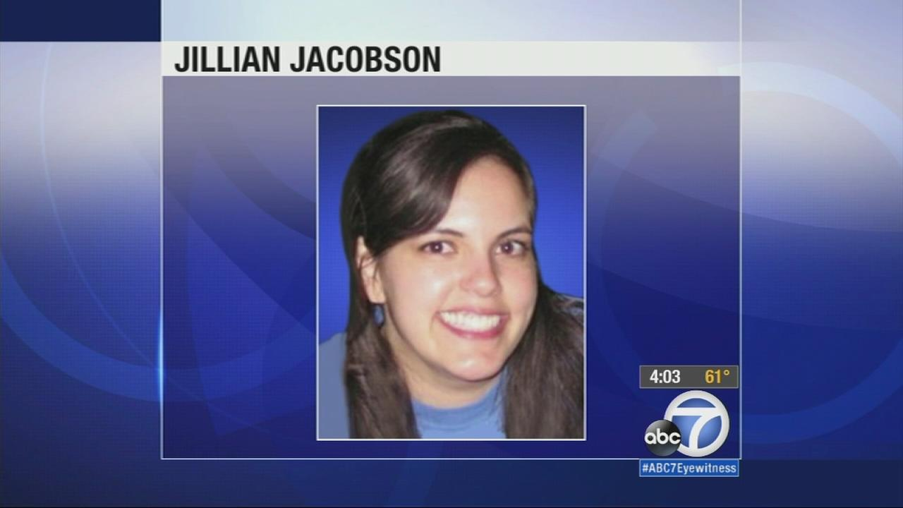 Jillian Jacobson, 31, of Anaheim was found hanging in a classroom at El Dorado High School in Placentia Monday, March 2, 2015.