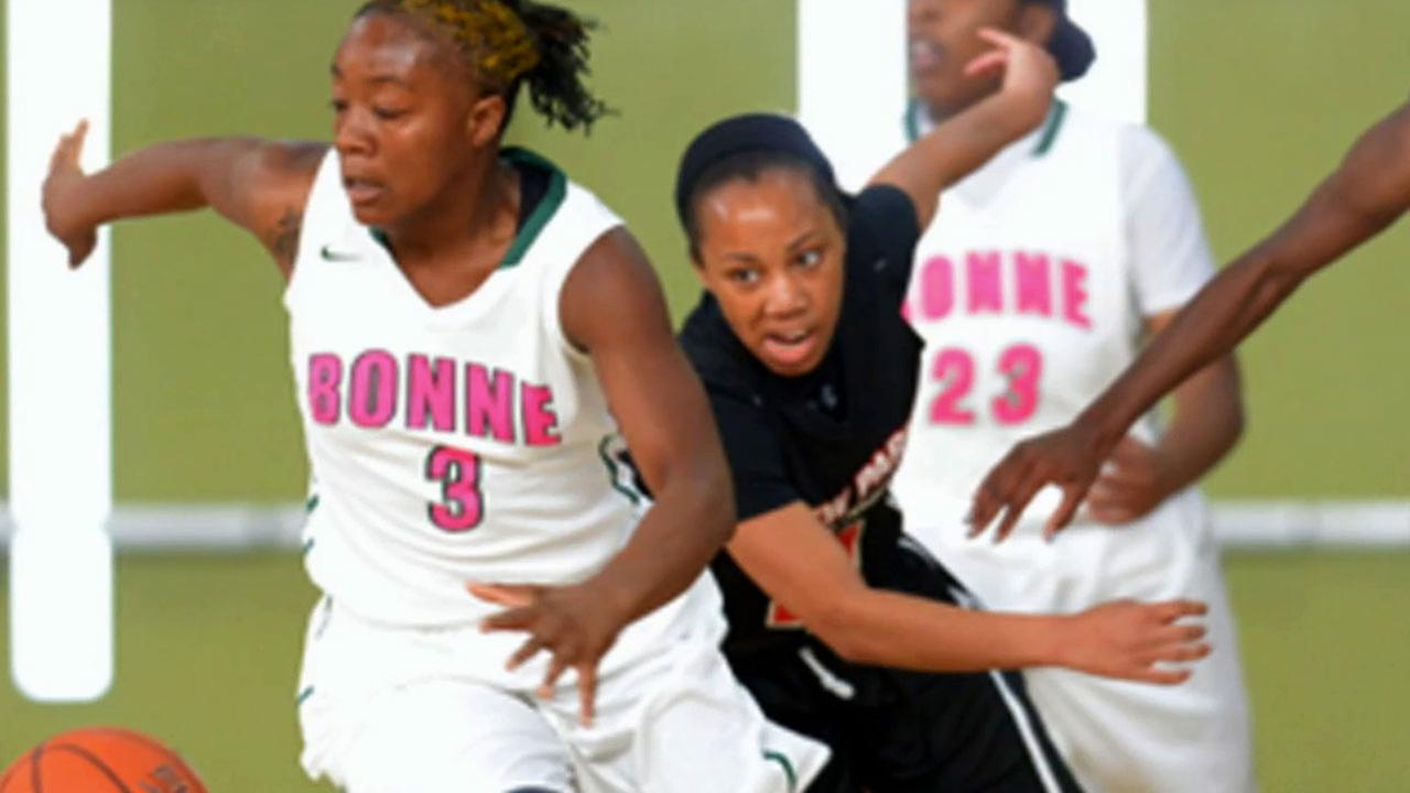 The Narbonne High School girls basketball team was forced to forfeit its 57-52 semifinal win against View Park Saturday after the team wore illegal uniforms.