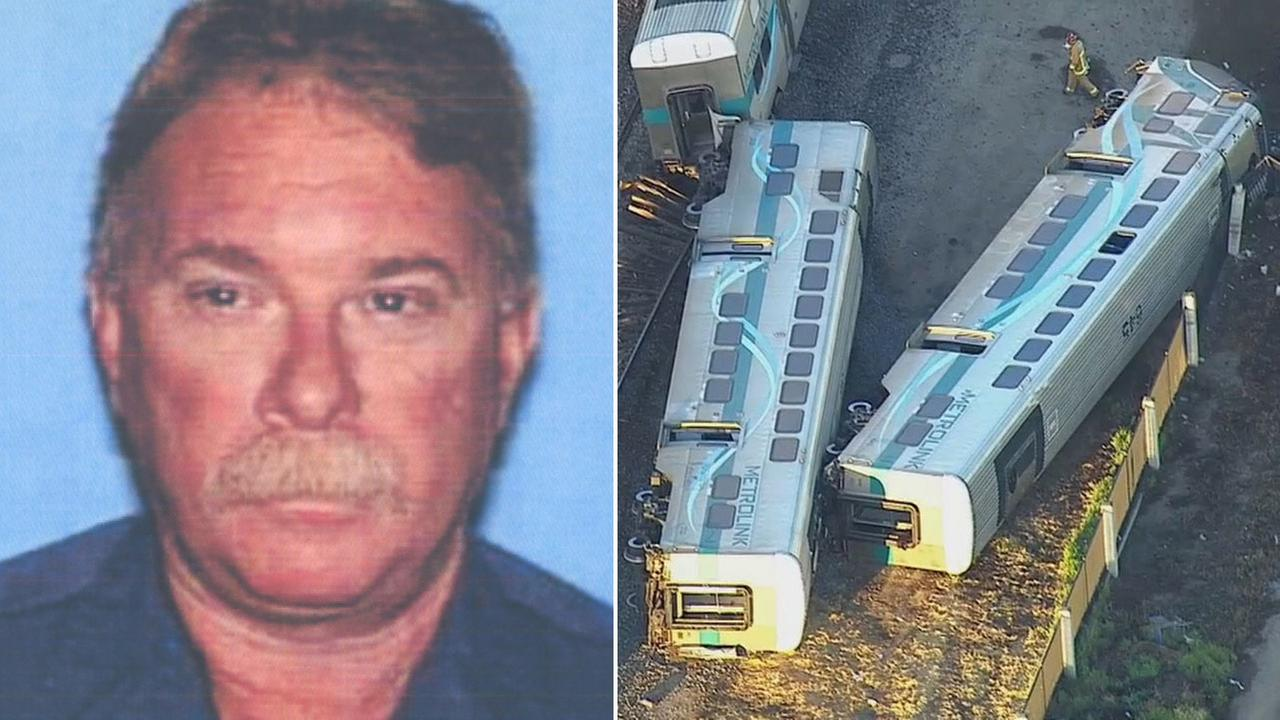 Metrolink train engineer Glenn Steele, seen in this photo from the California Department of Motor Vehicles, died Tuesday from injuries suffered in last weeks train crash in Oxnard.